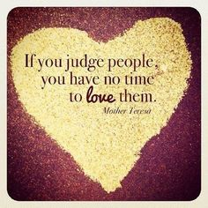 if you judge no time to love