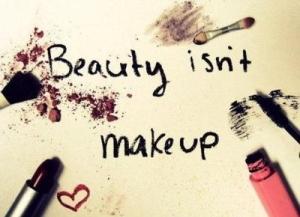 beauty isnt makeup