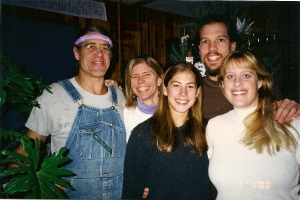 Kraai family Christmas 2001